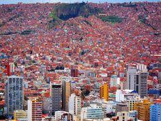 The Houses of La Paz, Bolivia