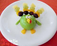 Gobble Gobble up some Turkey Fruit!