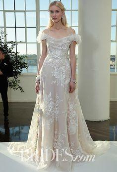 Fall 2017 Wedding Dress Trends | Brides   Wedding dress by Marchesa