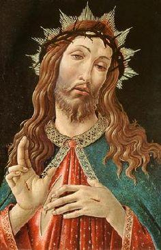 Sandro Botticelli - Ecce Homo, or The Redeemer