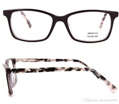 e53c36582bf New Arrival 2017 Fashion Men Acetate Glasses Frames Square Rectangle  Classic Eyeglass Frame With Spring Hinge