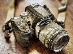 The camera at Burning Man