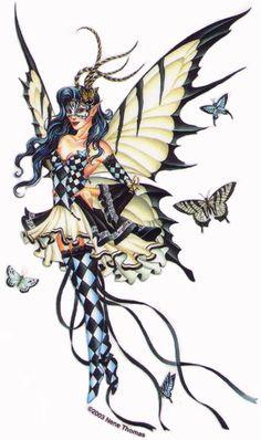 fairy :: harlequin fairy image by tharens - Photobucket