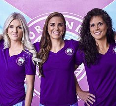 The Orlando Pride is Orlando's professional women's soccer team. The team joined the National Women's Soccer League, the top level of women's soccer in the U., for the 2016 season. Orlando Pride, Orlando City, Downtown Orlando, Orlando Magic, Soccer League, Soccer Fans, Soccer Girls, Alex Morgan, Atlanta Braves