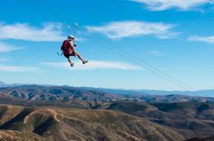 Reduce stress, improve your eyesight and be adventurous by soaring through the air in #Ensenada!   Adventure by Beatriz Aragon taken at Cuatro Cuatros