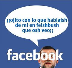 Rajoy's facebook