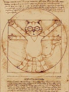 "The Cat ""vitruviano"""