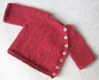 Puerperium Cardigan pattern by Kelly Brooker