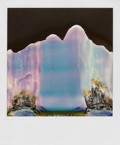 """From a series called """"Ruined Polaroids"""", by William Miller."""