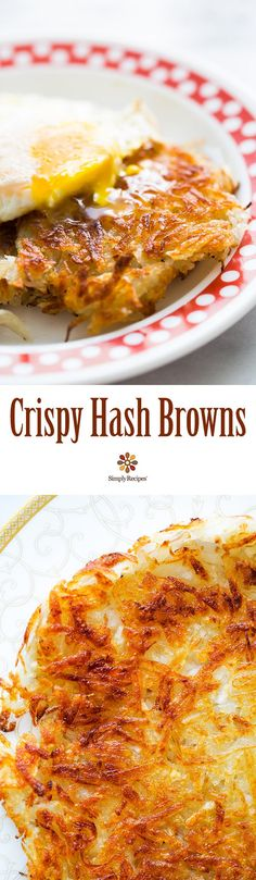 Low Carb Recipes To The Prism Weight Reduction Program Best Hash Browns Ever Here's How You Can Make Them Perfectly Browned And Extra Crispy Every Time. Breakfast Desayunos, Breakfast Dishes, Breakfast Recipes, Potato Dishes, Potato Recipes, Brunch Recipes, The Best, Delish, Food And Drink