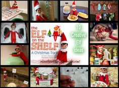 Fun with Elf on the Shelf!! Creative Ideas for Surprising the Kids!