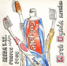 Toothpaste and... by dada's place, via Flickr