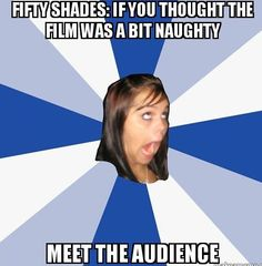 Fifty Shades of Mayhem: Meet the audience