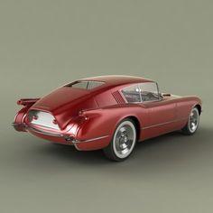 specialcar:  1954 Chevrolet Corvette Corvair Concept