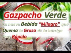 gazpacho verde Bebida quema grasa