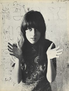 Grace Slick - best known as the lead singer for Jefferson Airplane.  One of my inspirations as a vocalist.