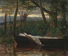 Walter Crane, The Lady of Shalott, 1862