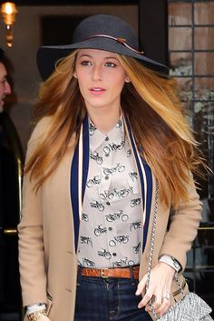 WHO: Blake Lively  WHERE: On the street, New York City WHEN: February 19, 2016