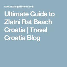 Ultimate Guide to Zlatni Rat Beach Croatia   Travel Croatia Blog