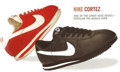CORTEZ Nike Cortez, Most Popular Shoes, Nike Shoes, Sneakers Nike, Sneaker Magazine, Cute Girl Outfits, We Wear, Sock Shoes, Old School