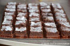 fondant au chocolat au beurre salé | Le Sucré Salé d'Oum Souhaib