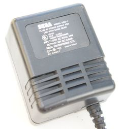 Official Sega Game Gear AC Adaptor Model : 2103 -1