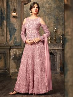 Indian Woman clothes Wedding Wear Party wear 5702 Maisha Sky Blue Heavy Net+with Embroidery work + Siquence +Stone Long Anarkali Suit Floor Length Anarkali, Long Anarkali, Anarkali Dress, Anarkali Suits, Punjabi Suits, Simple Anarkali, White Anarkali, Indian Salwar Kameez, Salwar Kameez Online