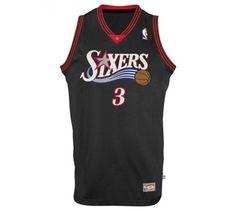 892350a8d446 Allen Iverson Philadelphia 76ers 3 NBA Intl Retired Swingman Allen Iverson