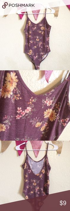 F21 Floral Bodysuit lighter in person than in picture. open back. 💕If you have any questions feel free to ask! ✨Item(s) will come with a free gift(s)!  🌸$3 off each item when bundled! 🚫No Trades/PayPal 💖Don't forget to leave a rating or love note after purchasing! I would love to see if you enjoyed your items or not! 🤑There will be sales like BOGO FREE, 3 for $10, etc so keep track of my closet!  🇵🇭Happy Poshing! Forever 21 Tops
