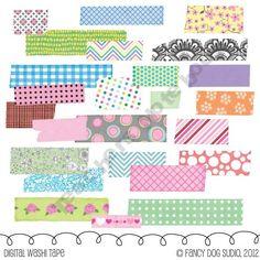 Embellishments - Washi Tape Images