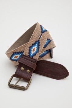 Obey clothing traveler belt