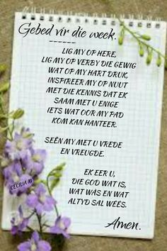 Prayer Quotes, Wisdom Quotes, Afrikaanse Quotes, Losing A Loved One, Spiritual Inspiration, Christianity, Good Morning, Bible Verses, Prayers