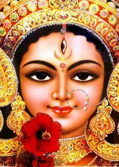 Durga Puja Nirghanta, Timings and Vidhi- all explained - hunter Info Durga Kali, Kali Mata, Durga Puja, Shiva Shakti, Kali Goddess, Mother Goddess, Om Namah Shivaya, Bhagavad Gita, Navratri Puja