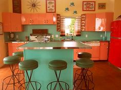 Retro - Mid Century Kitchen