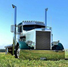 Big Trucks, Pickup Trucks, Old School Cars, Peterbilt Trucks, Locomotive, Rigs, Badass, Vehicles, Sexy