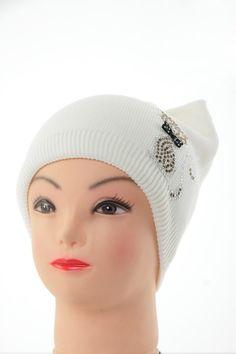 Шапка В0270 Цвет: кремовый Цена: 270 руб.  http://optom24.ru/shapka-v0270/  #одежда #женщинам #шапки #оптом24