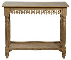 One Kings Lane Furniture Bazaar Agrippa Console Table Mango Wood