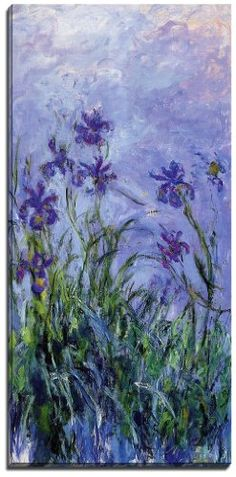 Stillwater Prints Canvas Reproduction Print, A Picture Of Claude Monet Painting, Lilac Irises, 1914-17, Superb Print O No description (Barcode EAN = 5053294122397). http://www.comparestoreprices.co.uk/december-2016-4/stillwater-prints-canvas-reproduction-print-a-picture-of-claude-monet-painting-lilac-irises-1914-17-superb-print-o.asp