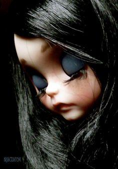 Reservados listado para M Ooak Custom Blythe Art Doll por aline8