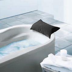 Kaldewei bath headrest light grey