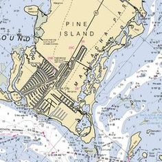 We love maps! Especially this map of Pine Island and Matlacha.