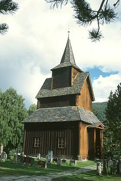 Skjaak, Norway | Torpo Church in Hallingdal, Norway and inspiration for the Torpo ...