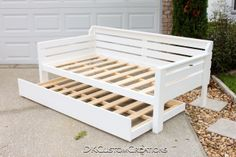 Custom made Daybed and Trundle.  Solid pine by DKCustomCreations, $975.00