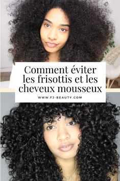 How to avoid frizz and sparkling hair? --Comment éviter les frisottis et les cheveux mousseux ? – How to avoid frizz and sparkling hair? Frizzy Hair Tips, Hair Frizz, Curly Hair Care, Curly Hair Styles, Natural Hair Styles, Split Ends Hair, Hair Waver, Morning Hair, Curling Hair With Wand