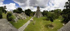 Mayojen pääkaupunki Tikal piilottelee sademetsän keskellä. #Guatemala #aurinko