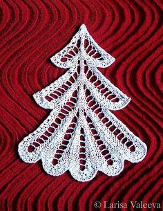 Ravelry: Christmas Tree Ёлочка by Larisa Valeeva