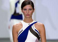 Muito rosa - London Fashion Week -Antonio Berardi