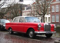 Mercedes benz w114w115 with an engine swap is this a nissan rb 1967 mercedes benz 200 d w110 sciox Gallery