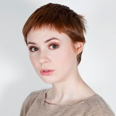 7 Fun Facts That'll Make You ADORE Guardians of the Galaxy Star Karen Gillan!  #InStyle...... Amy pond??? Short hair!!!!??