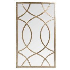 Miroir en métal H 100 cm OLNEY Motif Art Deco, Art Deco Design, Glass Design, Mirrored Furniture, Furniture Decor, Street Light Design, Interiores Art Deco, Wrought Iron Garden Gates, Metal Trellis